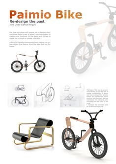 Paimio Bike by Samuel Angulo, via Behance