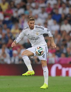 Sergio Ramos of Real Madrid in action during the Supercopa first leg match  between Real Madrid 23a48f56b9009