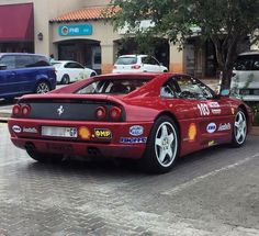 F355 Challenge spotted looking race ready by @wes_william_finlay #Ferrari #f355challenge #ExoticSpotSA #Zero2Turbo #SouthAfrica