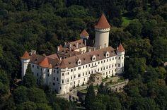 Konopiste Castle - Near Prague, Czech Republic