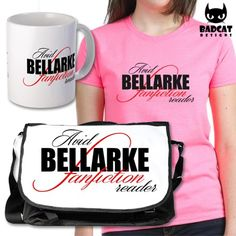 THE 100 - AVID BELLARKE FANFICTION READER  'Avid #Bellarke Fanfiction Reader', official merchandise for the post-apocalyptic drama series #The100, inspired by the young adult novels by Kass Morgan. A #BellamyBlake x #ClarkeGriffin shipping design.  Find these and more at the #BadCatDesigns Store!