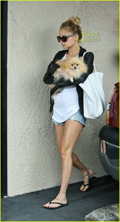 Nicole Richie's Pomeranian