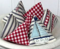 lavender.. or could be cute bean bags, or rice heat pads..