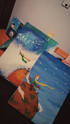 The Little Prince, Monuments, Drawing Ideas, Bts, Wallpapers, Drawings, Painting, Messages, The Petit Prince