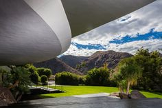 Bob Hope's amazing 23,000 sq. ft. modernist lair by John Lautner - I would love to buy this!