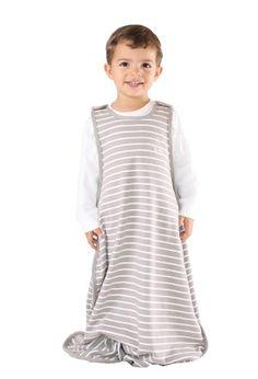 Woolino Toddler Sleeping Bag, 4 Season, Merino Wool, Baby Sleep Sack, 2-4 Years, Earth - $139.00