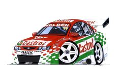 VY Holden Commodore Radios, Australian Muscle Cars, Holden Commodore, Car Sketch, Love Car, Art Studios, Art Cars, Super Cars, Original Paintings