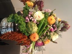 Trending Thursday for Hadley Court Blog: Farm to Table Arrangements by Shelley Rosenberg fro LURA studio