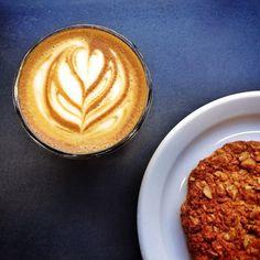#Cortado at Brooklyn #coffee, Shoreditch London