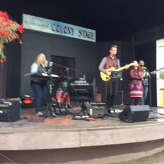 Enjoy the beautiful sounds of The Pete Munday Worship Band at Colony Stage this morning #AlaskaStateFair #alaska