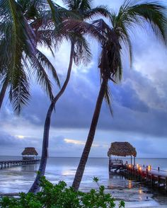 Sunrise After The Rain - San Pedro, Ambergris Caye, Belize