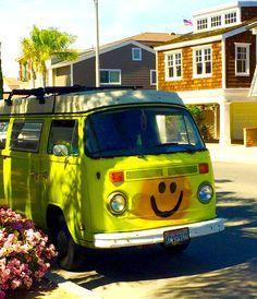 Happy Hippie Wagon <3 BOHOVARDO.COM #boho #bohemian #hippie #gypsy #freespirit #travel #adventure #wanderlust #beach #waves #sunshine #happy #love #beautiful #mermaid #surf #beachbum #bus #vardo #smile