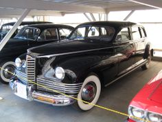 Old Packard Limo - don't worry the car cover is much cheaper