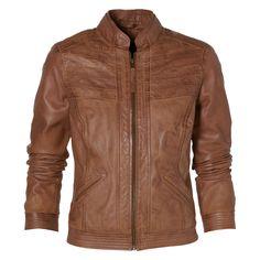 Leather Jacket Deny Marble
