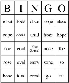 Phonics OA Words Submited Images