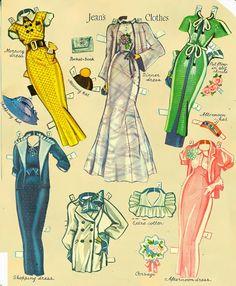 Grown up Paper dolls - Bobe Green - Picasa Webalbum