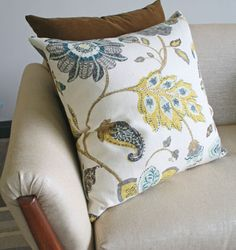 Spring Mix, Aloe, love this pillow and color scheme for the living room.
