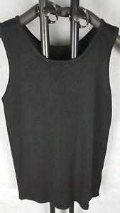 a fantastico punto senora camisa ladies knit camisa jersey viscosa mix negro 38 42 s l