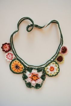 Little Helsinki: Summer necklace (found by the blogger on a craft market in Finland :o)