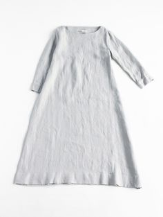 // evam eva. hemp linen dress.