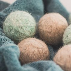 Switching to Wool Dryer Balls; Why