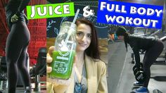 Full Body Workout & Juicing to lose weight|Countown to Birthday Vlog #6|...