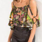 32 diseños de blusas que debes tener esta temporada (16) - Curso de Organizacion del hogar