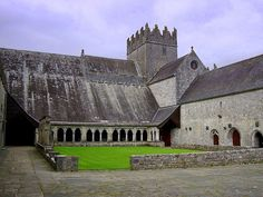 I have a thing for monasteries : Tipperary Ireland. and  Because its actually  place