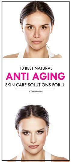 10 Amazing Natural Anti Aging Skin Care Solutions