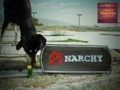 Anarchy...handmade wooden sign,wall decor,bar-pub decoration,recyclable material   Home & Garden, Home Décor, Plaques & Signs   eBay!