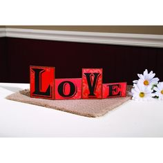 Love Table Top Decor Sign