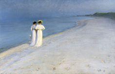 Sommeraften på Skagen - P.S. Krøyer