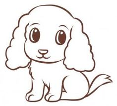 how to draw a puppy dog