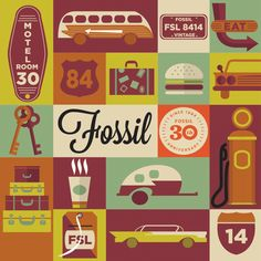 Fossil 30th Anniversary Tin