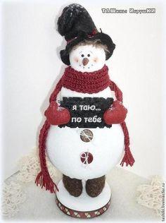 Влюбленный снеговик