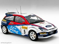 Ford Focus WRC #5 Rally Monte Carlo 2002
