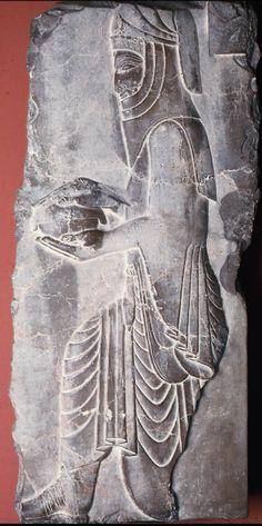 Relief of a Persian servant. Near Eastern, Iranian, Persian, Achaemenid, 550-331 B.C.