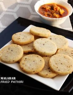Fried pathiri is a pancake made of rice flour and coconut mixture which is deep fried rather than baked. This pathiri or pancake is different from Malabar rice pathiri which is baked. This pancake recipe is very common and popular among the people of malabar (Kerala state of southern India).