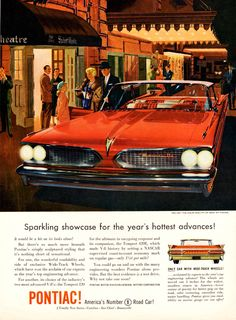 vintage pontiac advertising | vintage_ads: The Pontiac Bonneville, Catalina, & Tempest