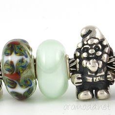 #Trollbeads #ooak Armadillo #glass #beads