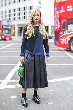 cool combo #KateFoley. London.