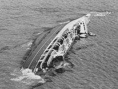 There were many heroes and brave rescuers on the day the Wahine sank, with the loss of 52 of the 734 people on board. - New Zealand Herald Abandoned Ships, Abandoned Places, Ship Breaking, Ship Wreck, Auckland New Zealand, Ghost Ship, Love Boat, Kiwiana, Interesting History