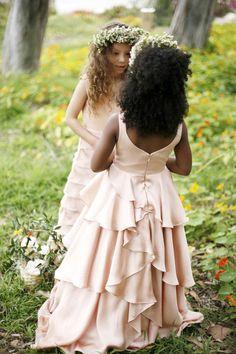 sweet flowergirl/junior bridesmaid dress