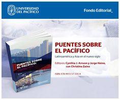 Fondo Editorial de la Universidad del Pacífico. Libro: Puentes sobre el pacífico - post para redes sociales.