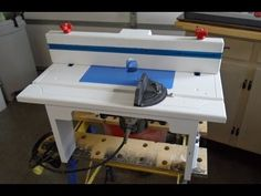 Check out this easy to make Router Table.  This is one of those nice to have tables in the woodshop!