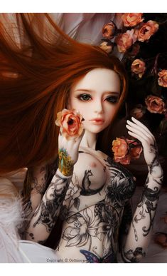 ball jointed doll, dolls, and bjd afbeelding