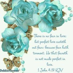 but perfect love casteth out fear: because fear hath torment. He that feareth is not made perfect in love. Biblical Quotes, Bible Verses Quotes, Bible Scriptures, Spiritual Quotes, Wisdom Bible, Powerful Scriptures, Prayer For Wife, King James Bible Verses, John Verses