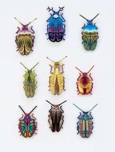 Image result for polymer clay beetle
