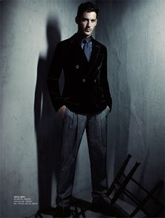 Andrija Bikic is a Man in the Shadows for S Magazine