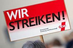 Tarifrunde ohne Ergebnis: Bundesweiter Streik der Lehrer ab Montag.
